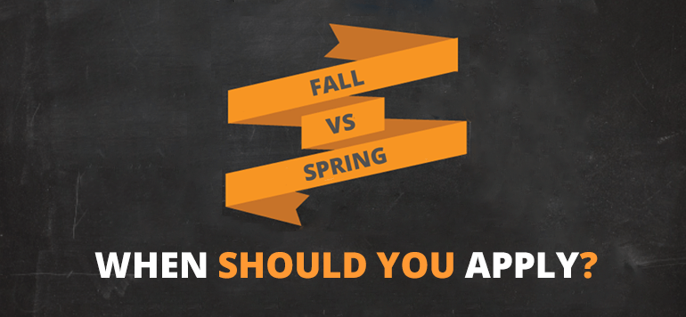 When to Enroll in College: Deciding between the Spring Semester and Fall Semester