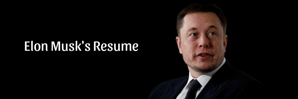 What the One Page Elon Musk Resume Can Teach Career Aspirants and College Applicants